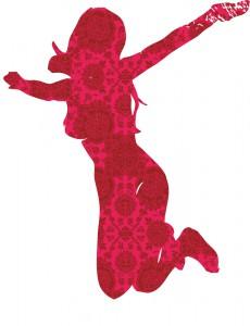 meisje rood perzisch